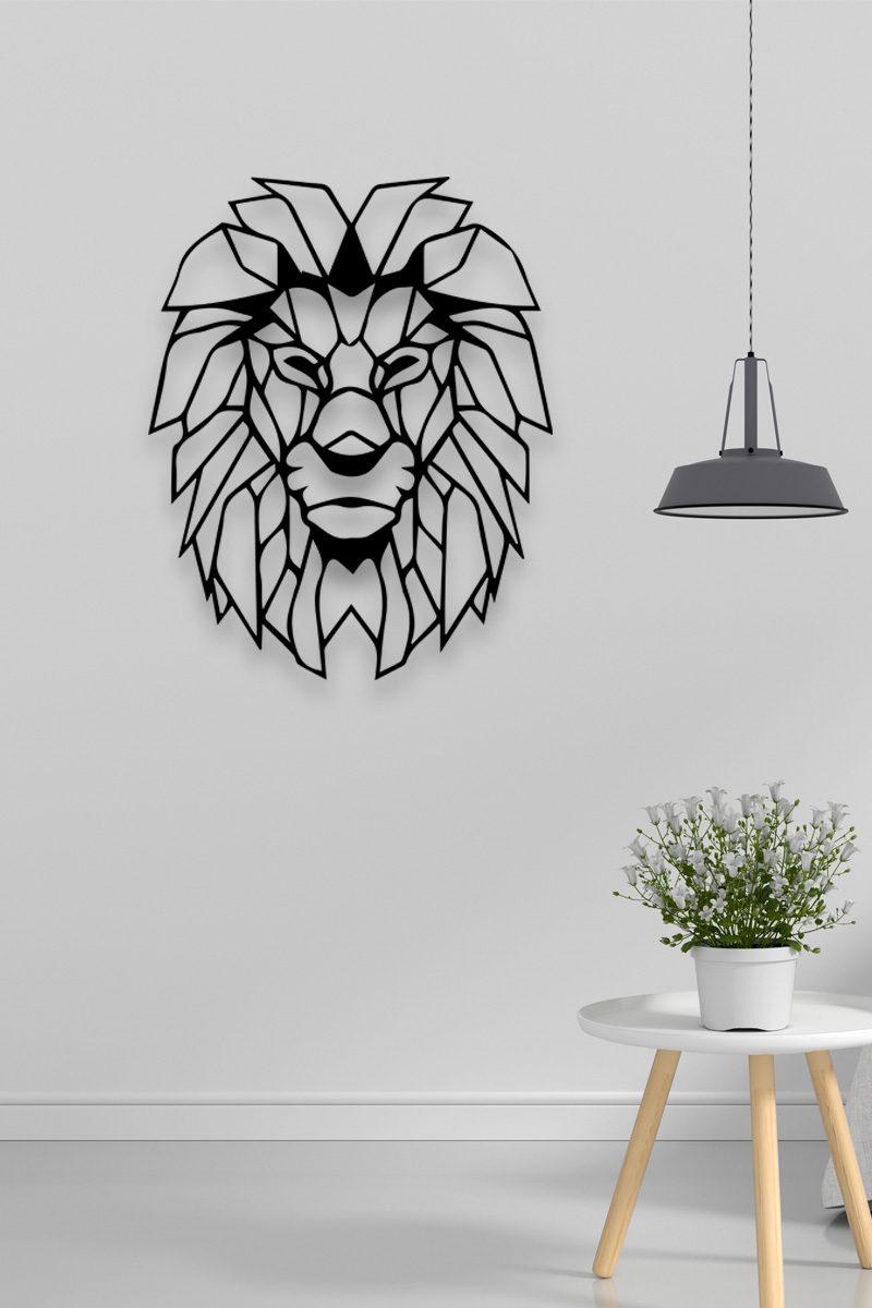 Leeuw-Uitgesneden-Plexiglas-Wanddecoratie
