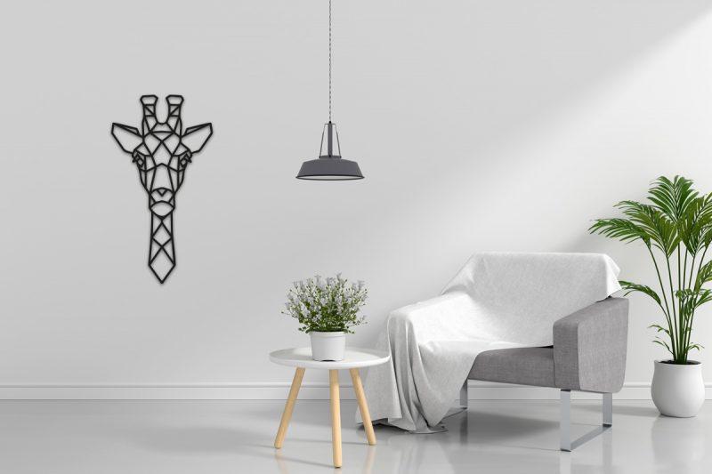 Giraffe-wandecoratie-sfeerfoto
