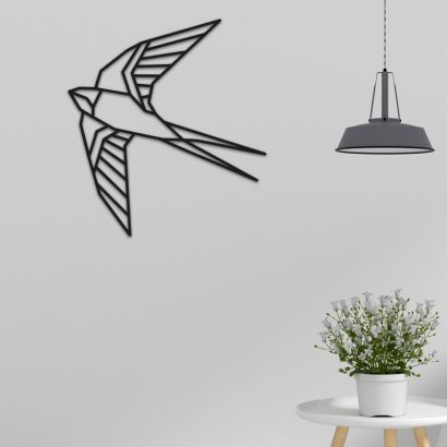 Zwaluw-Wandecoratie-Graveerlab