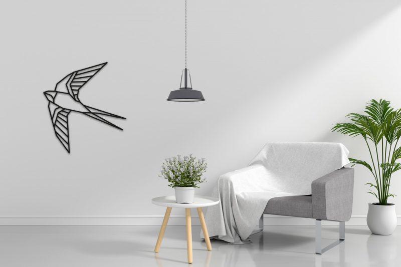 Zwaluw-wandecoratie-sfeerfoto