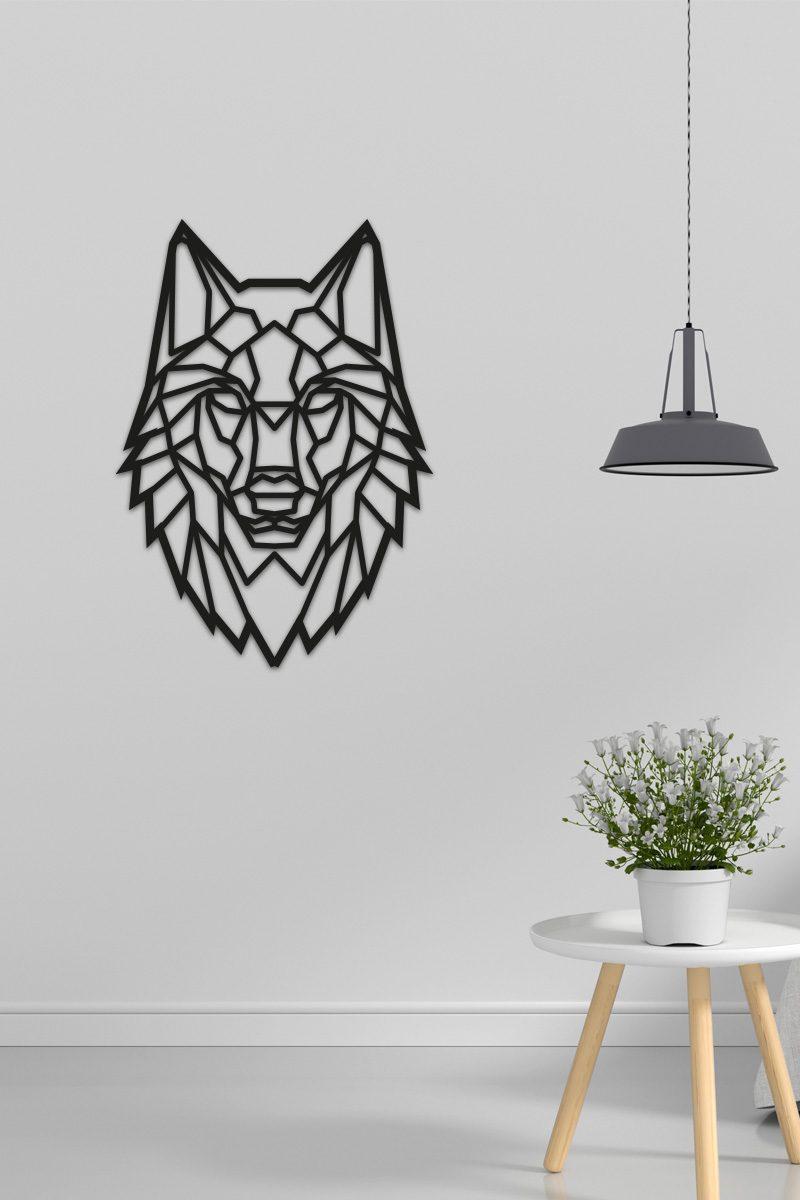 Wolf-Wandecoratie-Graveerlab